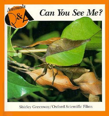 Image for Can You See Me? (Animals Q & a Series)