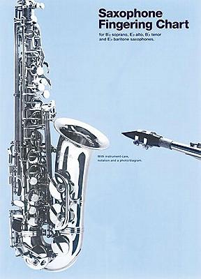 Image for Saxophone Fingering Chart (Amsco Fingering Charts)