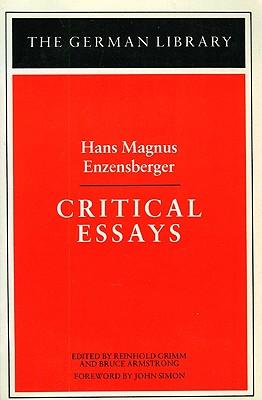 Critical Essays: Hans Magnus Enzensberger (German Library), Hans Magnus Enzensberger
