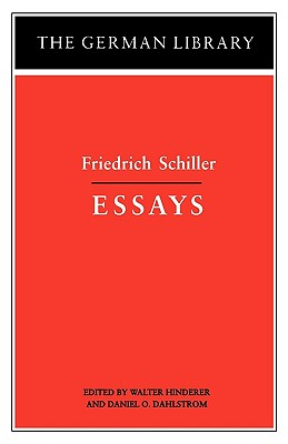 Image for Essays: Friedrich Schiller (The German Library No. 17)