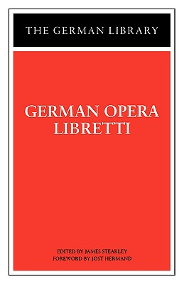 Image for German Opera Libretti (German Library)