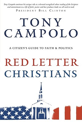 Red Letter Christians, Campolo, Tony