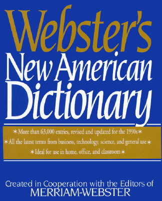 Image for Webster's New American Dictionary