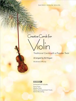 Image for Creative Carols for Violin Book/Cdrom
