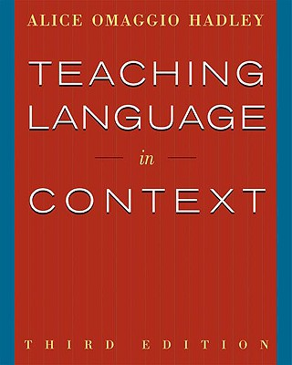 Image for Teaching Language In Context (World Languages)
