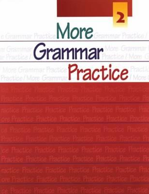 Image for More Grammar Practice 2