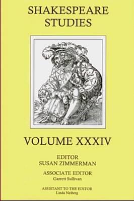 Image for Shakespeare Studies
