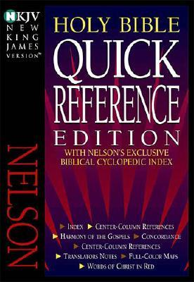 Image for NKJV Holy Bible: Quick Reference Edition