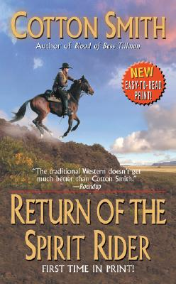 Image for Return of the Spirit Rider (Leisure Historical Fiction)
