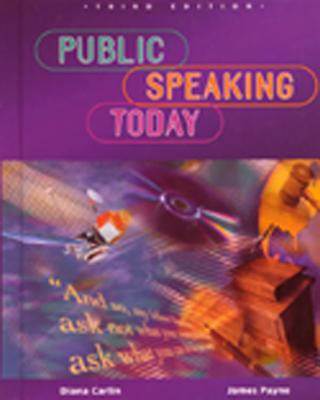 Image for Public Speaking Today, Student Edition (NTC: SPEECH COMM MATTERS)