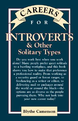 Image for Careers For Introverts & Other Solitary Types