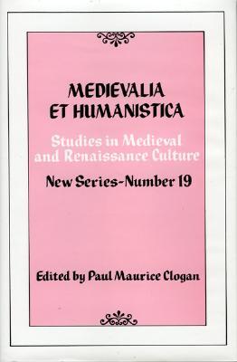 Image for Medievalia et Humanistica, No.19