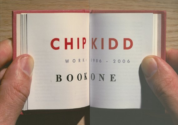 Image for CHIP KIDD : BOOK ONE WORK 1986-2006