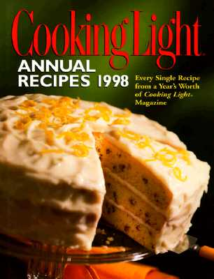 Image for Cooking Light : Annual Recipes 1998 (Serial)