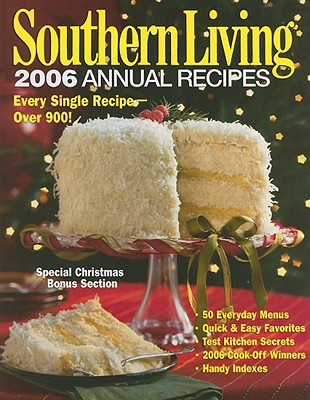 Image for Southern Living: 2006 Annual Recipes