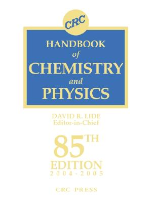 Image for CRC Handbook of Chemistry and Physics, 85th Edition indexed