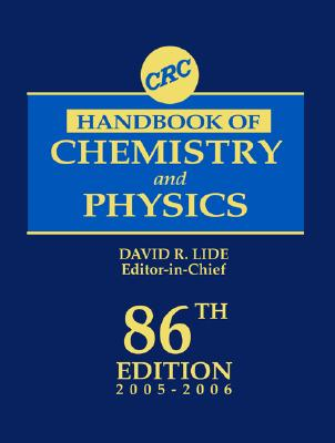Image for CRC Handbook of Chemistry and Physics, 86th Edition