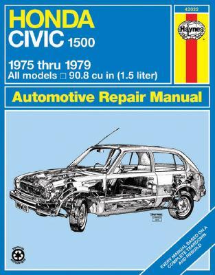Image for Haynes Honda Civic 1500 CVCC Manual No. 297: '75-'79 (Haynes Manuals)