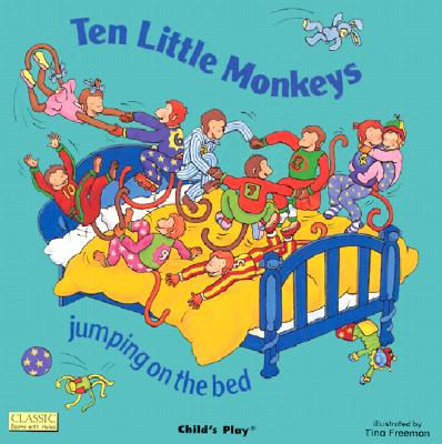 Image for Ten Little Monkeys Jumping on the Bed (Classic Books With Holes) (Classic Books with Holes Board Book)