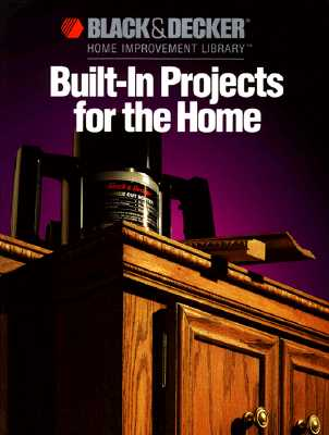 Image for Black & Decker Built-In Projects for the Home