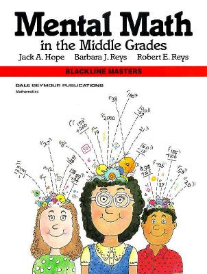 Image for Mental Math in the Middle Grades, Blackline Masters