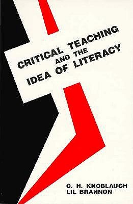 Image for CRITICAL TEACHING AND THE IDEA OF LITERA