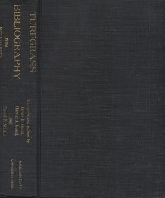 Image for Turfgrass Bibliography from 1672 to 1972