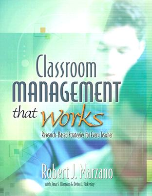 Image for CLASSROOM MANAGEMENT THAT WORKS RESEARCH BASED STRATEGIES FOR EVERY TEACHER