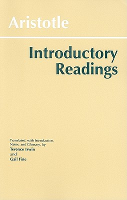 Image for Aristotle: Introductory Readings (Hackett Classics)