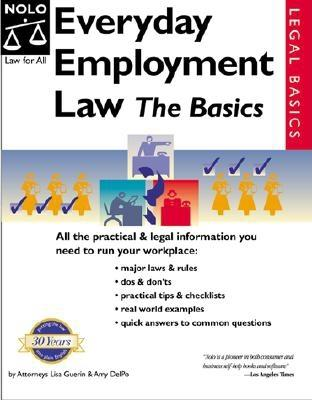 Image for Everyday Employment Law: The Basics