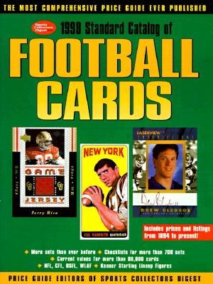 Image for 1998 STANDARD CATALOG OF FOOTBALL CARDS
