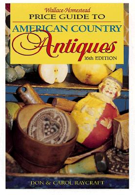 Image for PRICE GUIDE TO AMERICAN COUNTRY ANTIQUES