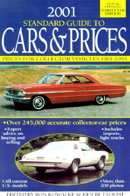 Image for STANDARD GUIDE TO CARS & PRICES 2001