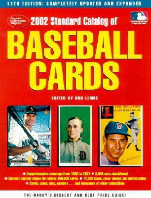 Image for 2002 Standard Catalog of Baseball Cards (Standard Catalog of Vintage Baseball Cards)