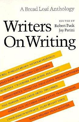 Image for Writers on Writing (Bread Loaf Anthology)