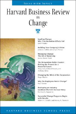 Image for Harvard Business Review on Change (Harvard Business Review Paperback Series)