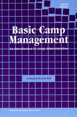 Image for Basic Camp Management: An Introduction to Camp Administration