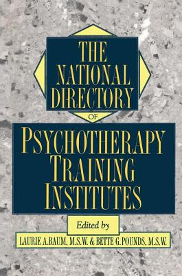 Image for The National Directory Of Psychotherapy Training Institutes