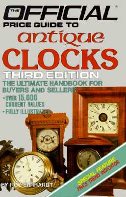 Image for Antique Clocks: 3rd Edition (Official Price Guide to Clocks)