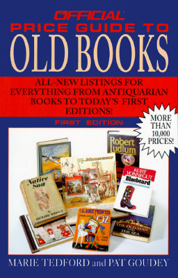 Image for Official Price Guide to Old Books, 1st Edition (Official Price Guide to Collecting Books)