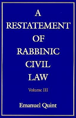 A Restatement of Rabbinic Civil Law: Laws of Pleading