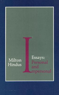 Image for Essays: Personal and Impersonal