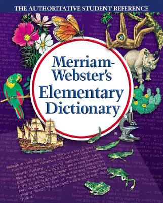 Image for Merriam Webster 6763 Elementary Dictionary, Grades 3-5, Hardcover, 624 Pages