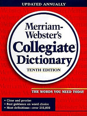 Image for Merriam Webster's Collegiate Dictionary