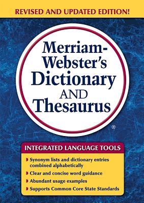 Image for Merriam-Webster's Dictionary And Thesaurus