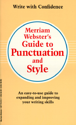 Image for Merriam-Webster's Guide to Punctuation and Style