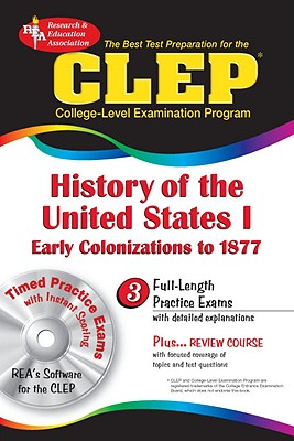 Image for The CLEP History of the United States I w/CD (REA) - The Best Test Prep for the CLEP (Test Preps)