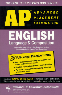 Image for AP English Language & Composition (REA) - The Best Test Prep for the AP Exam (Advanced Placement (AP) Test Preparation)