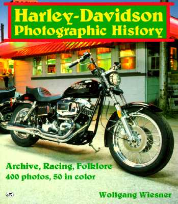 Image for Harley-Davidson: Photographic History
