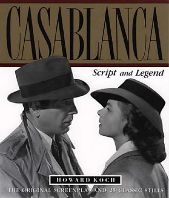 Image for Casablanca: Script and Legend